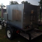 Large Commercial BBQ Pitt