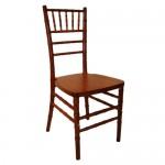 11 Mahogany Chaivari Chairs no cusion